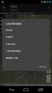 Coordinate Converter+- screenshot thumbnail