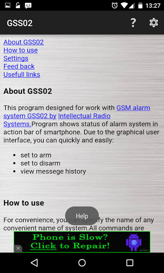 GSS02 GSM Security- screenshot