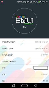 Colors Theme for Huawei EMUI3+4 - náhled