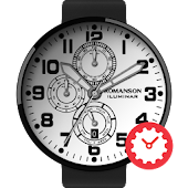 Iluminar White watchface by Romanson