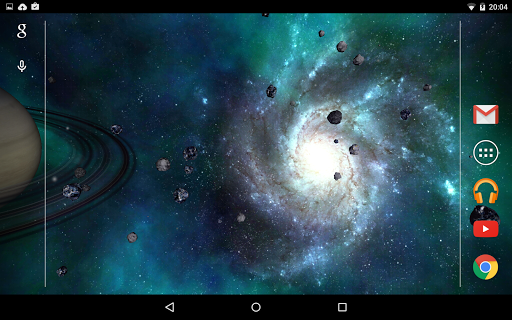 Universe 3D Live Wallpaper Screenshot 6