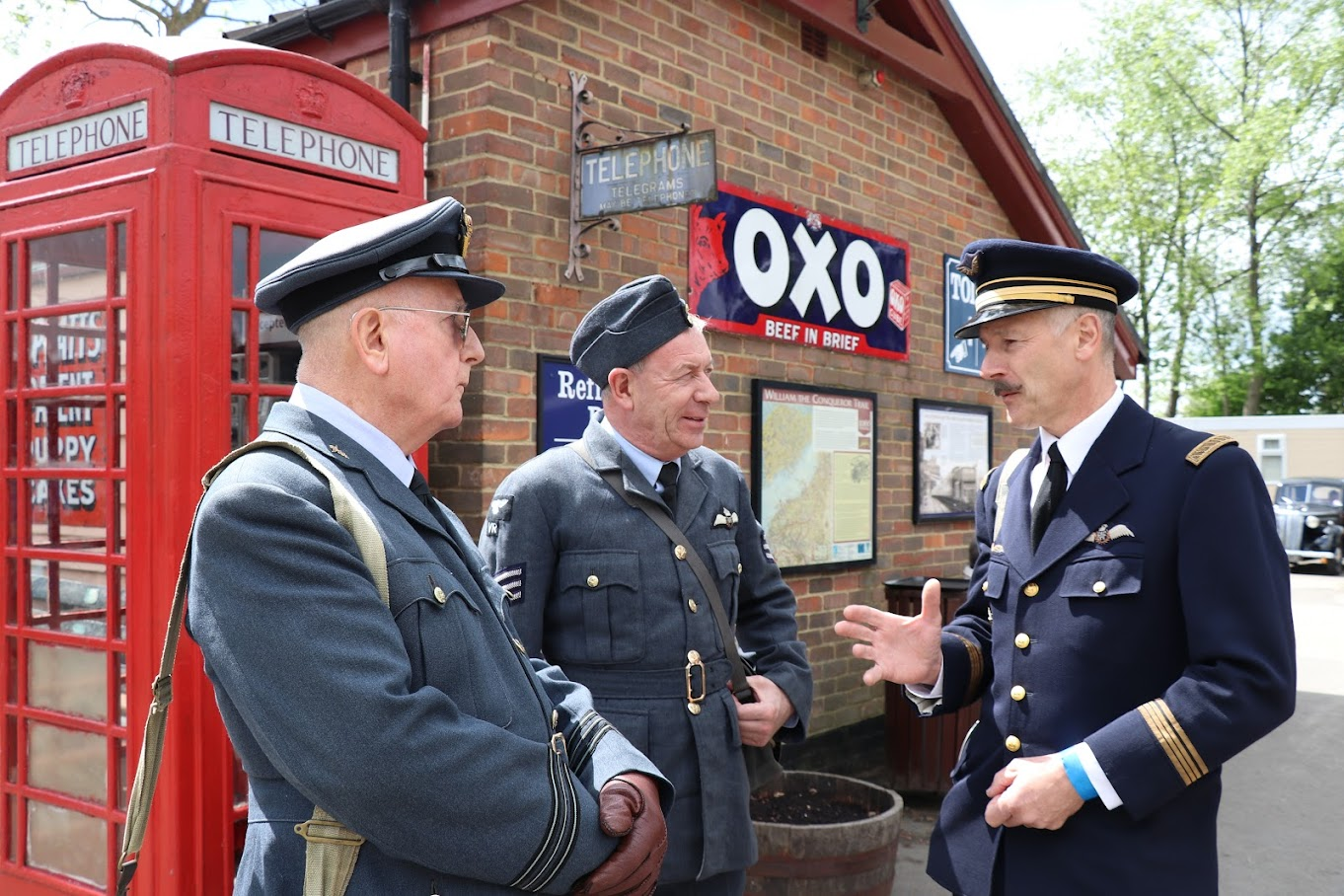 1940s weekend Tenterden Steam Railway, KESR