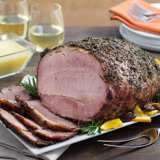 Ham with Rosemary, Oranges, and Olives.