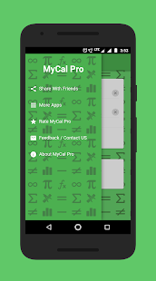MyCal Pro - Percentage & General Calculator Screenshot