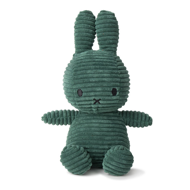 Miffy Corduroy - 23 cm, Dark Green