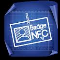 Badge NFC icon