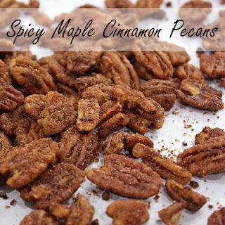Spicy Maple Cinnamon Pecans