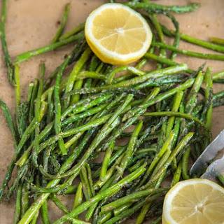 Baked Asparagus.