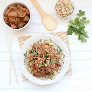 Massaman Curry Crock Pot Chicken.