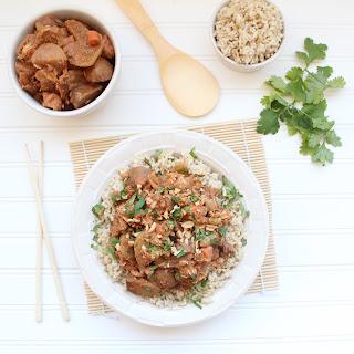 Massaman Curry Crock Pot Chicken.
