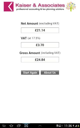 Kaiser Accounting Tools 1.0 screenshot 7