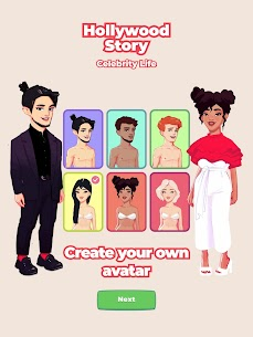 Hollywood Story: Celebrity Life Simulator Mod Apk (Unlimited Money) 1.2.5 10