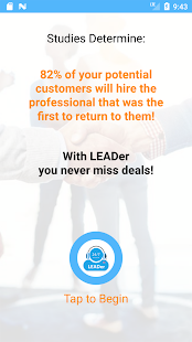 LEADer - Manage your customers in a click! - náhled