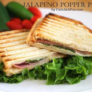 Jalapeno Popper Panini