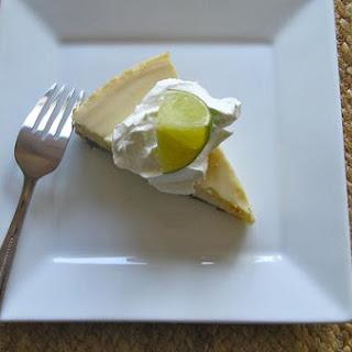 Refreshing Key Lime Pie.