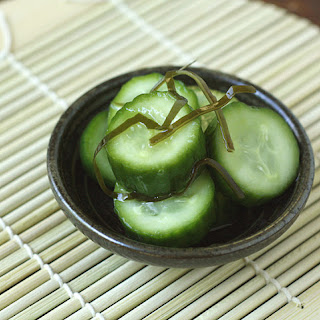 Kyuri Asa-zuke (Japanese Lightly Pickled Cucumbers).