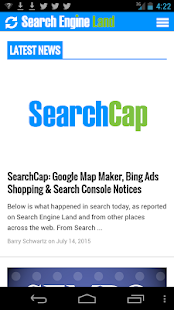 Search Engine Land- screenshot thumbnail