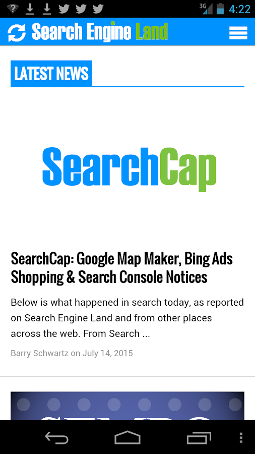 Search Engine Land- screenshot
