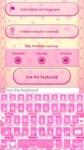 Valentine's Day Love Keyboard - náhled
