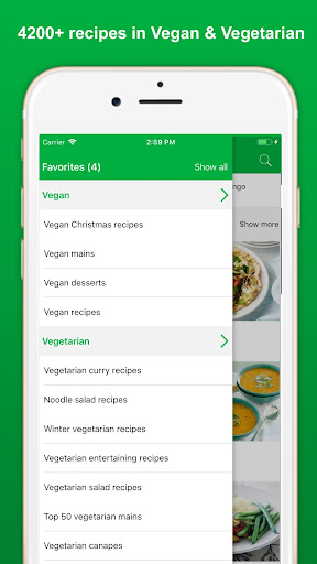 Vegan Recipes - Healthy Food screenshot 3