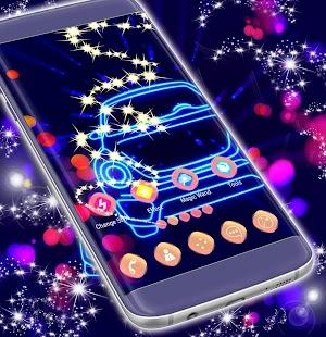 Neon Car Témata - náhled