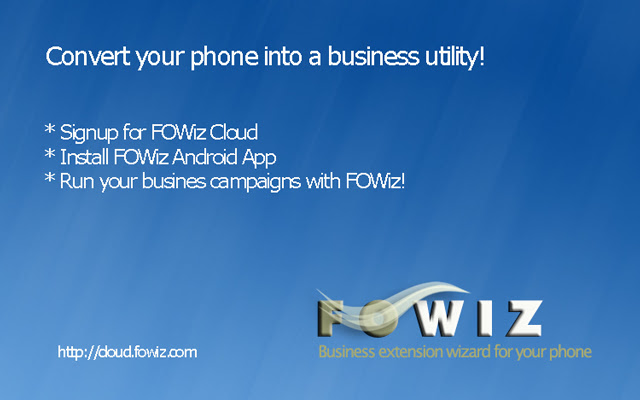 FOWiz  - Call and SMS Manager