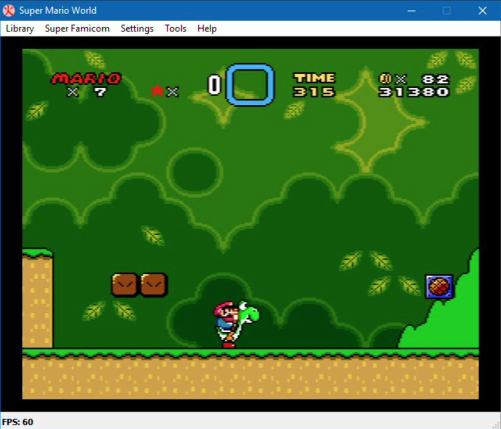 4. Higan GBA Emulator For PC