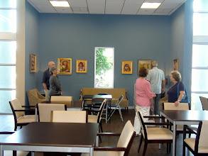 Photo: 4-21-13 Les & Sydelle Sher Art exhibit at Weissman Ctr