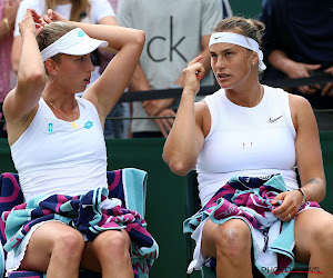 Elise Mertens en Aryna Sabalenka grijpen naast felbegeerde award
