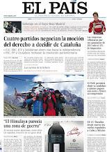 Photo: Cuatro partidos negocian la moción del derecho a decidir de Cataluña, las empresas tributaron por sus ganancias de 2011 solo el 11% de impuestos y EE UU fiscaliza desde marzo los vuelos españoles a Cuba y México, en nuestra portada del lunes 24 de septiembre