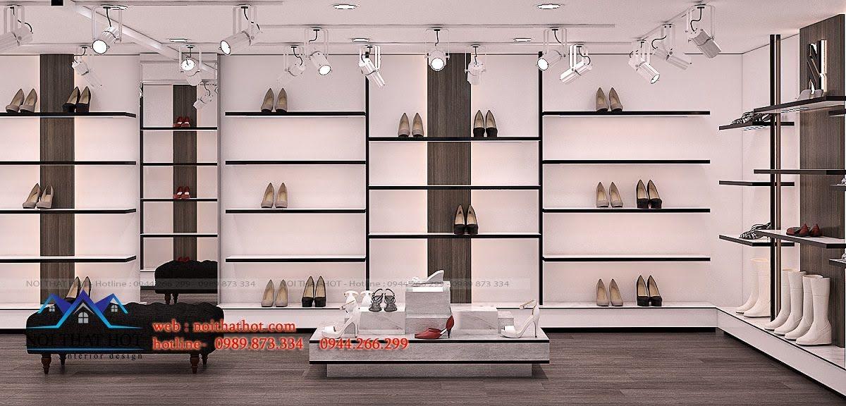 thiết kế shop giày dép thời trang ha huyen 5