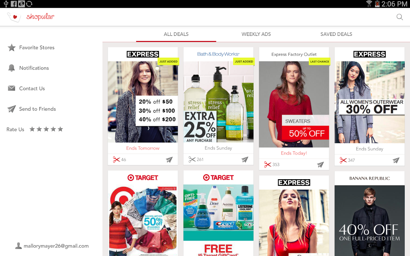 Coupons & Weekly Ads Shopular- screenshot