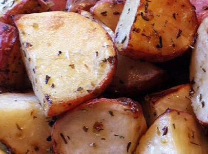 Lemon Oregano Roasted Potatoes Recipe