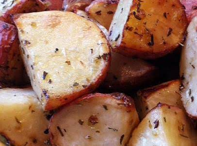 Lemon Oregano Roasted Potatoes Recipe