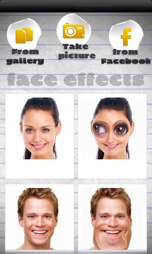 Efectos en la cara screenshot 1