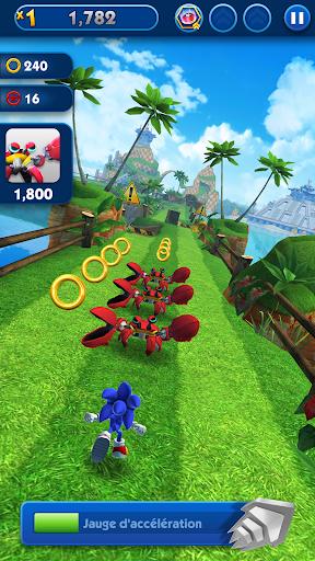Télécharger Gratuit Sonic Dash - Jeu de course à pied et saut ! APK MOD (Astuce) screenshots 1