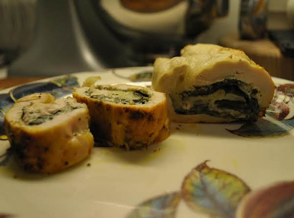 Chicken Breast Stuffed With Spinach & Cheese