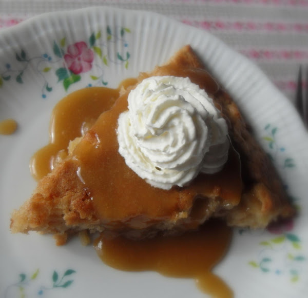 Apple Pie Cake With Butter-rum Sauce Recipe