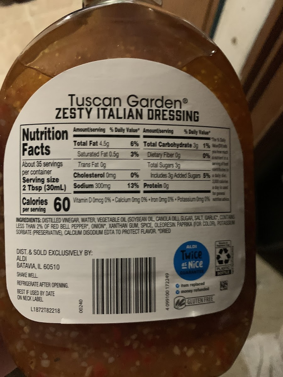 Zesty Italian