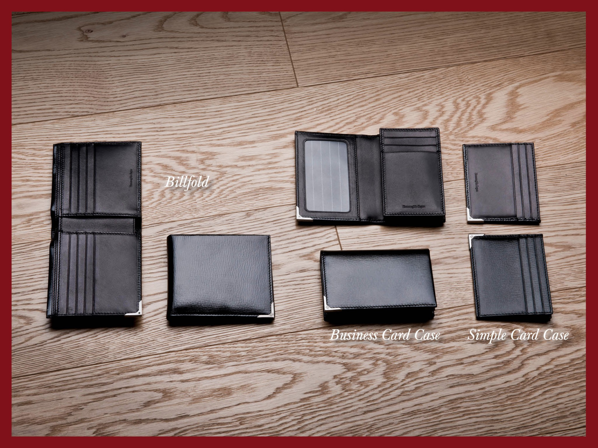 Photo: Ermenegildo Zegna - Holiday Season Selection – Small leather goods in black printed calf leather. For an elegant style. Find your favorite item at http://bit.ly/X47GwN
