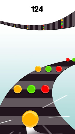 Color Ball Road - Twisty Tube  screenshots 1