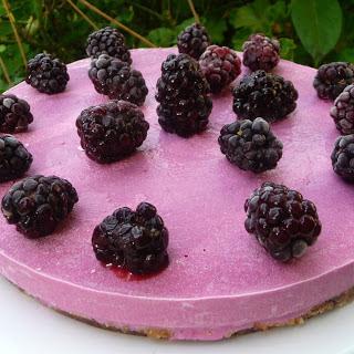 Blackberry Lime Cheesecake [Vegan, Gluten-Free] Recipe