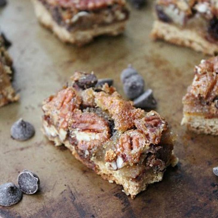 Maple Chocolate Pecan Bars Recipe