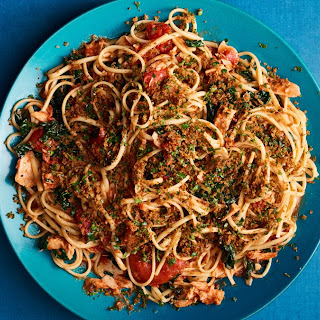 Linguine with Anchovies and Tuna Recipe