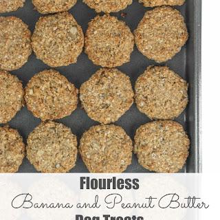 Flourless Banana and Peanut Butter Dog Treats