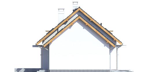 Sowa 14 z garażem - Elewacja lewa