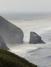 Photo: I love the sea spray and the atmospheric layers it creates...