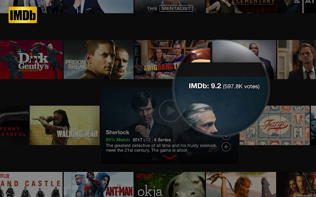 IMDb Ratings for Netflix™