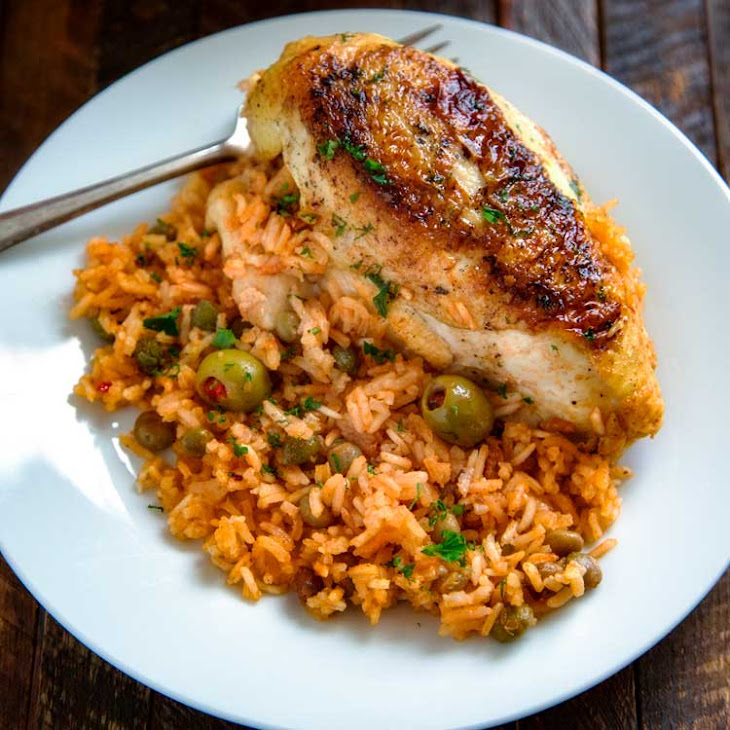 Puerto Rican Chicken and Rice Recipe