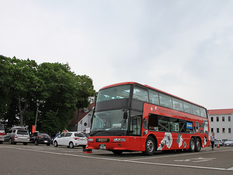 WILLER(網走バス)「レストランバス」1号車 8888 羊ヶ丘展望台_02